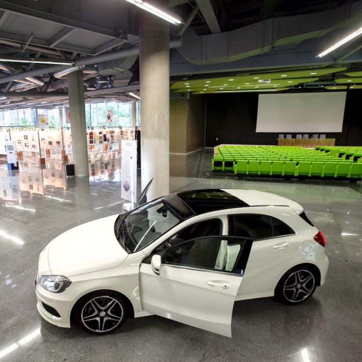Gran flexibilidad - Hall de Exposiciones