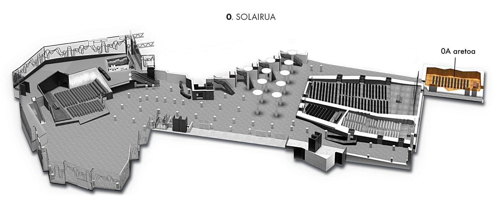 0A aretoa, 0. solairua   Palacio Euskalduna Jauregia