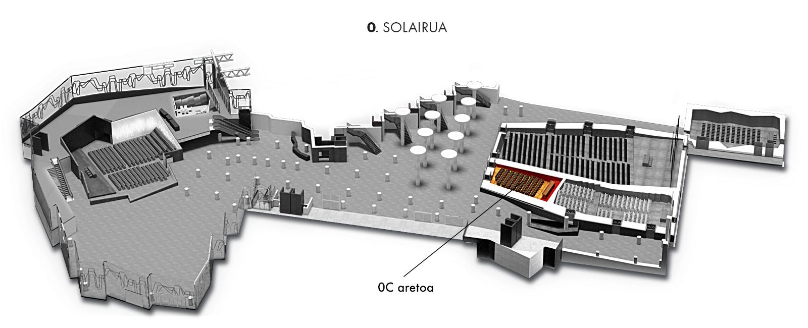 0C aretoa, 0. solairua | Palacio Euskalduna Jauregia