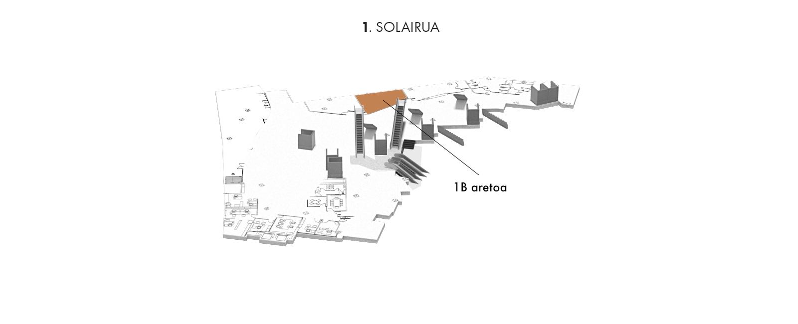 1B aretoa, 1. solairua | Palacio Euskalduna Jauregia