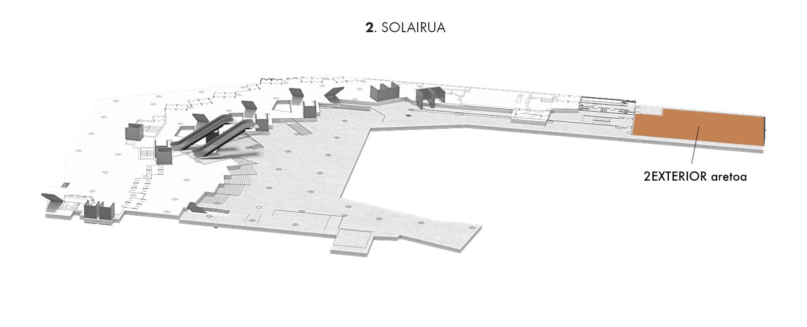 2EXTERIOR aretoa, 2. solairua | Palacio Euskalduna Jauregia