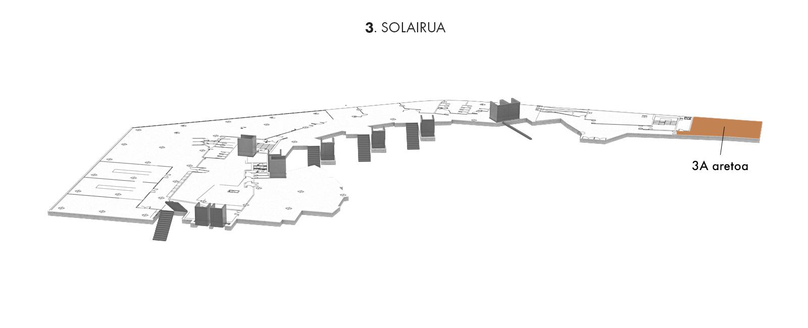 3A aretoa, 3. solairua | Palacio Euskalduna Jauregia