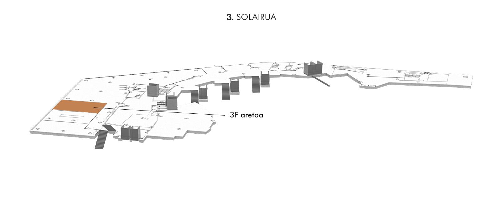 3F aretoa, 3. solairua   Palacio Euskalduna Jauregia