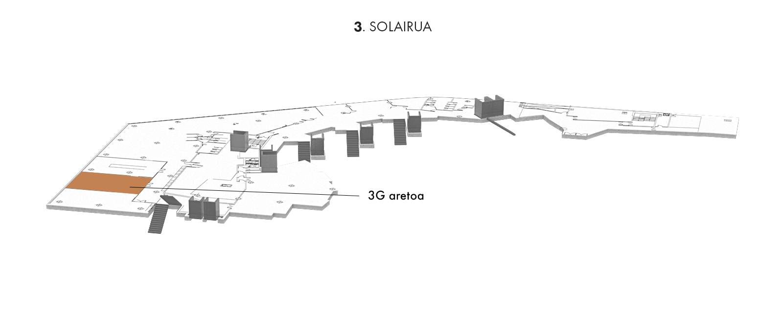 3G aretoa, 3. solairua   Palacio Euskalduna Jauregia