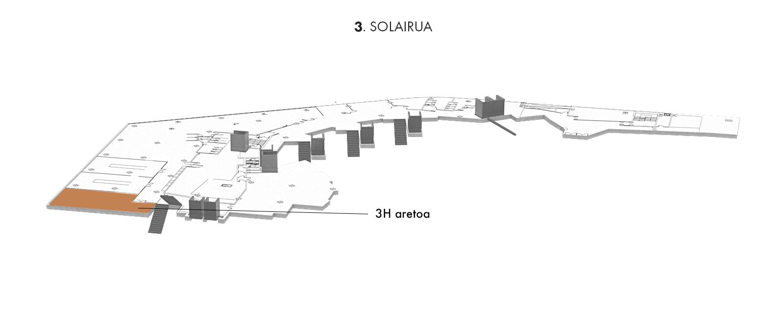 3H aretoa, 3. solairua | Palacio Euskalduna Jauregia