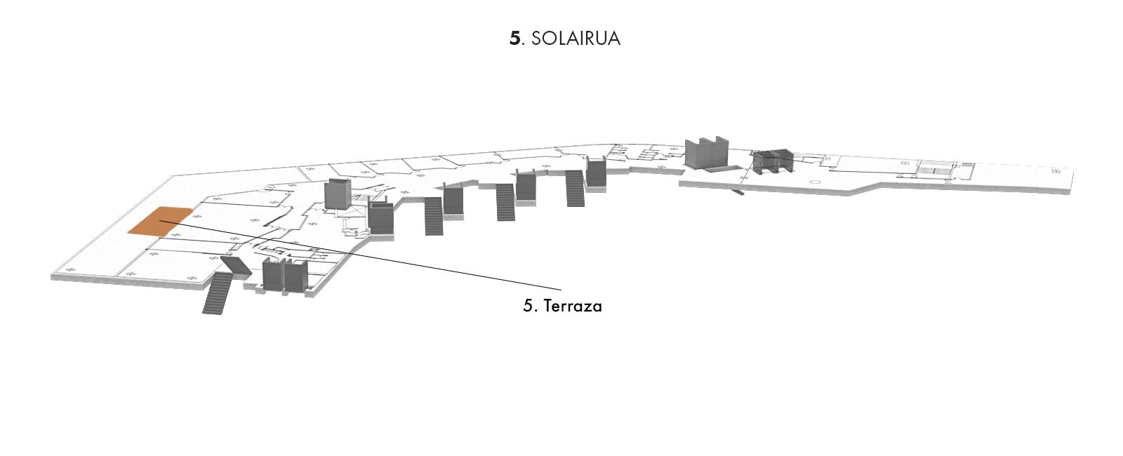 5. Terraza, 5. solairua | Palacio Euskalduna Jauregia