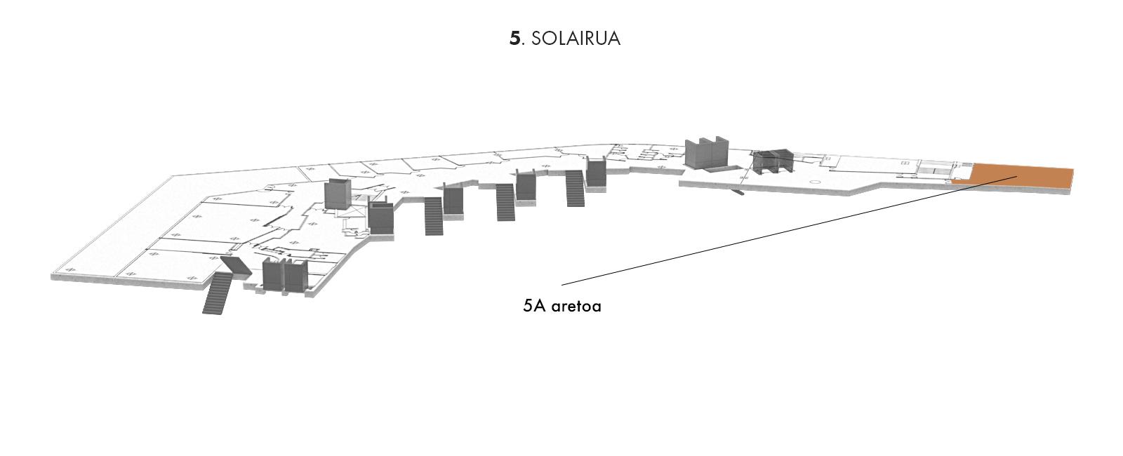5A aretoa, 5. solairua | Palacio Euskalduna Jauregia