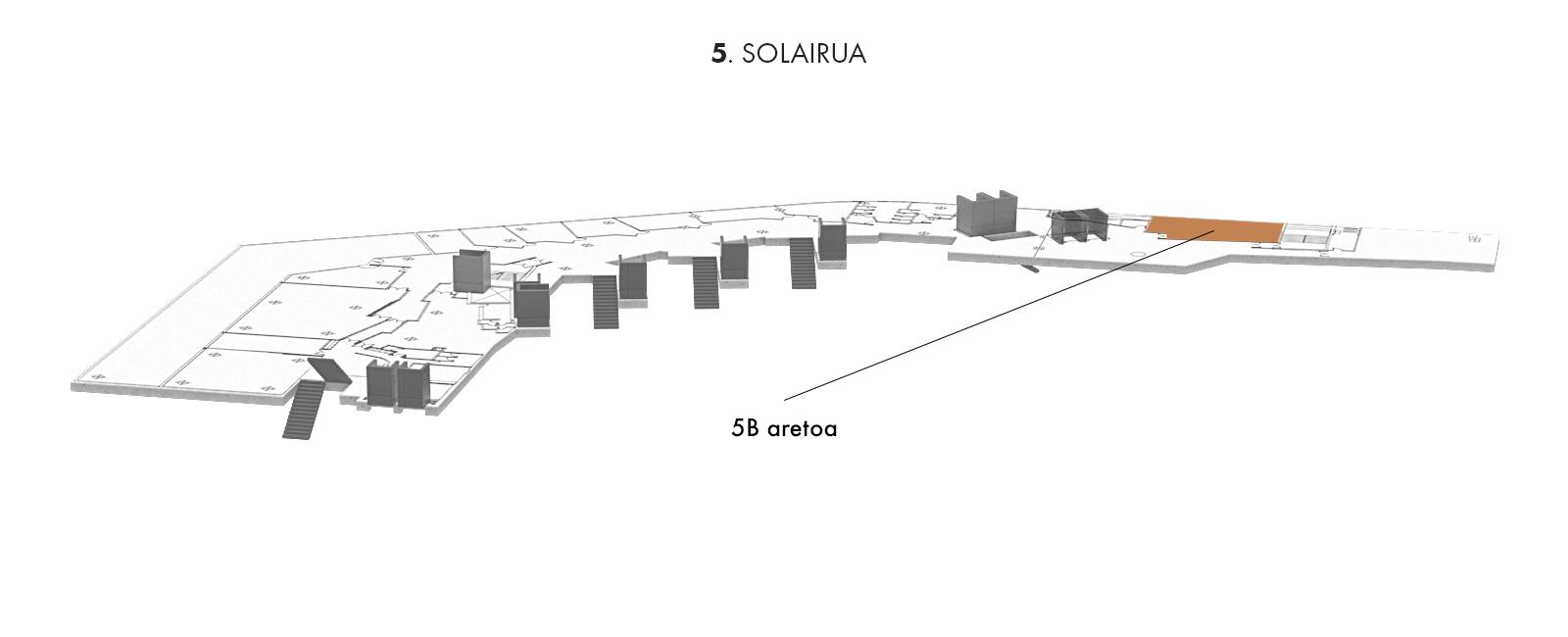 5B aretoa, 5. solairua | Palacio Euskalduna Jauregia