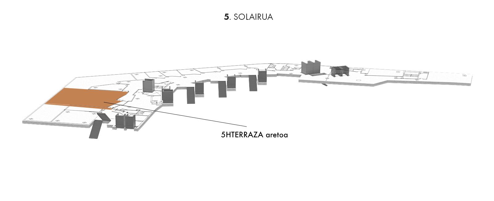 5HTERRAZA aretoa, 5. solairua | Palacio Euskalduna Jauregia