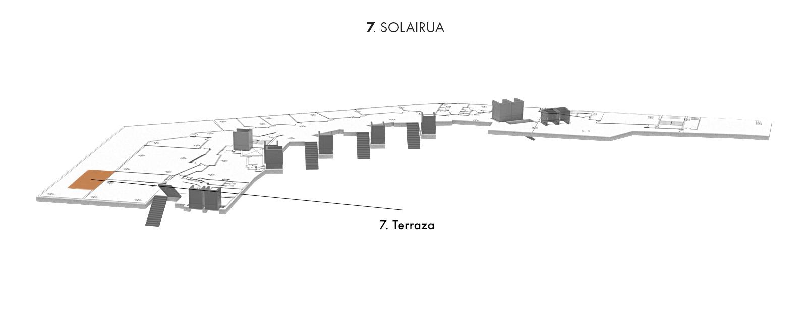 7. Terraza, 7. solairua | Palacio Euskalduna Jauregia