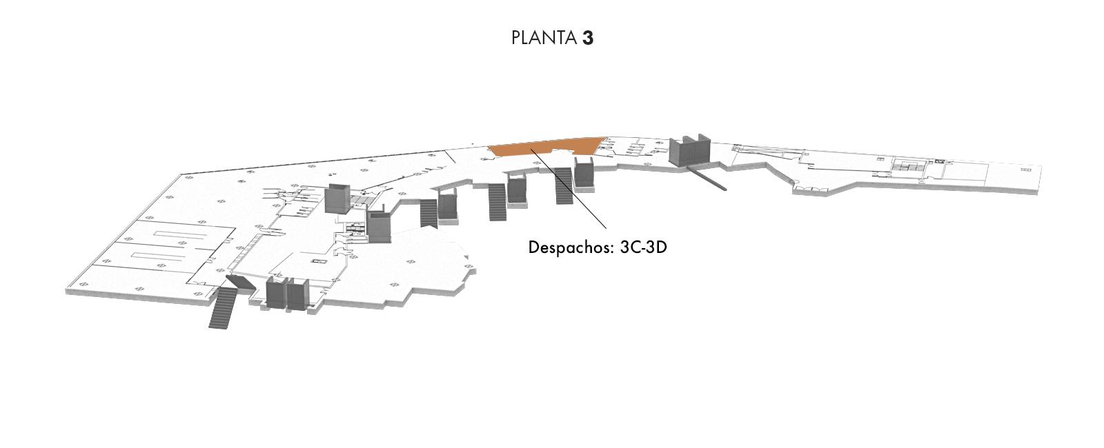 Despachos: 3C-3D, Planta 3 | Palacio Euskalduna Jauregia