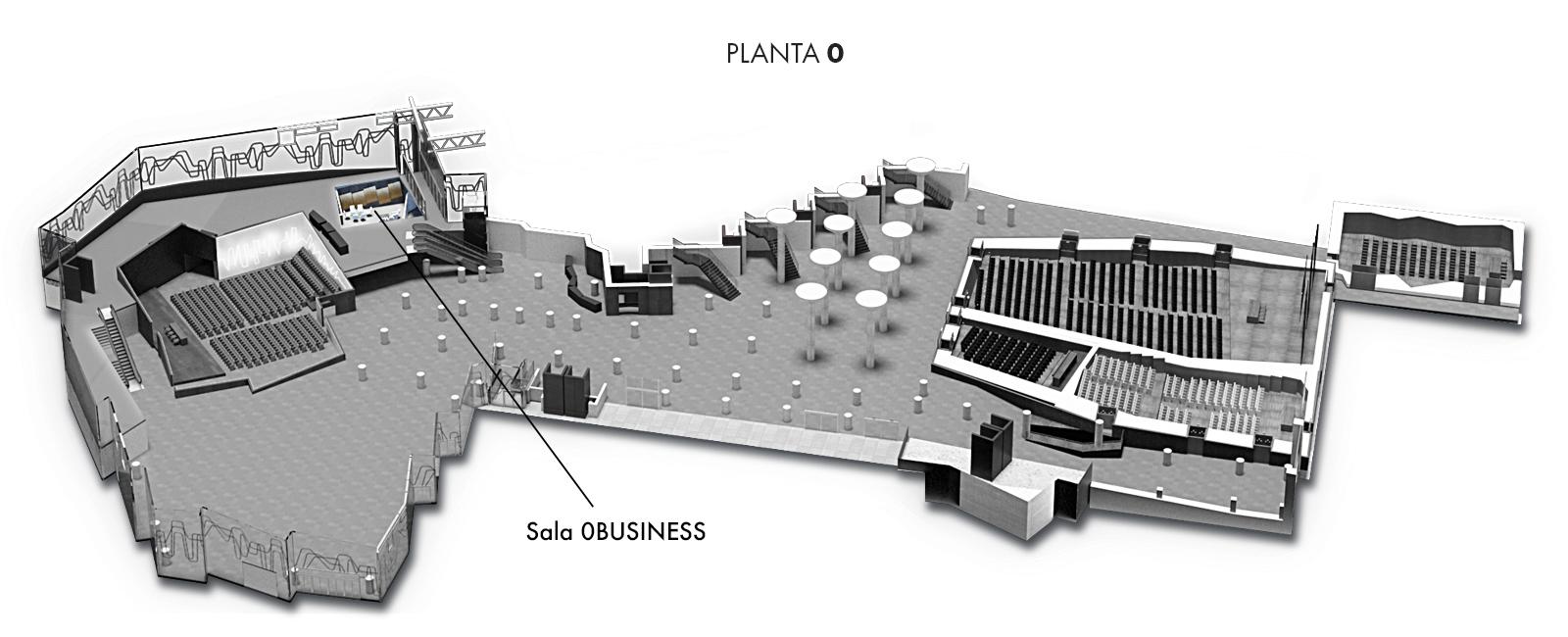 Sala 0BUSINESS, Planta 0 | Palacio Euskalduna Jauregia