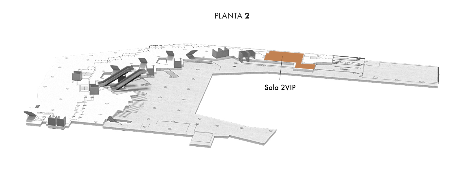 Sala 2VIP, Planta 2   Palacio Euskalduna Jauregia