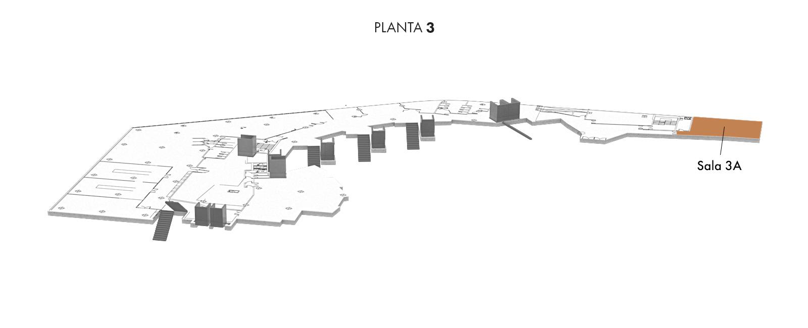 Sala 3A, Planta 3 | Palacio Euskalduna Jauregia