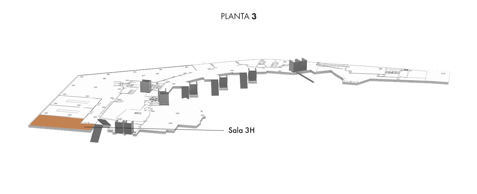 Sala 3H, Planta 3   Palacio Euskalduna Jauregia