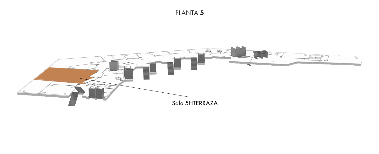 Sala 5HTERRAZA, Planta 5 | Palacio Euskalduna Jauregia