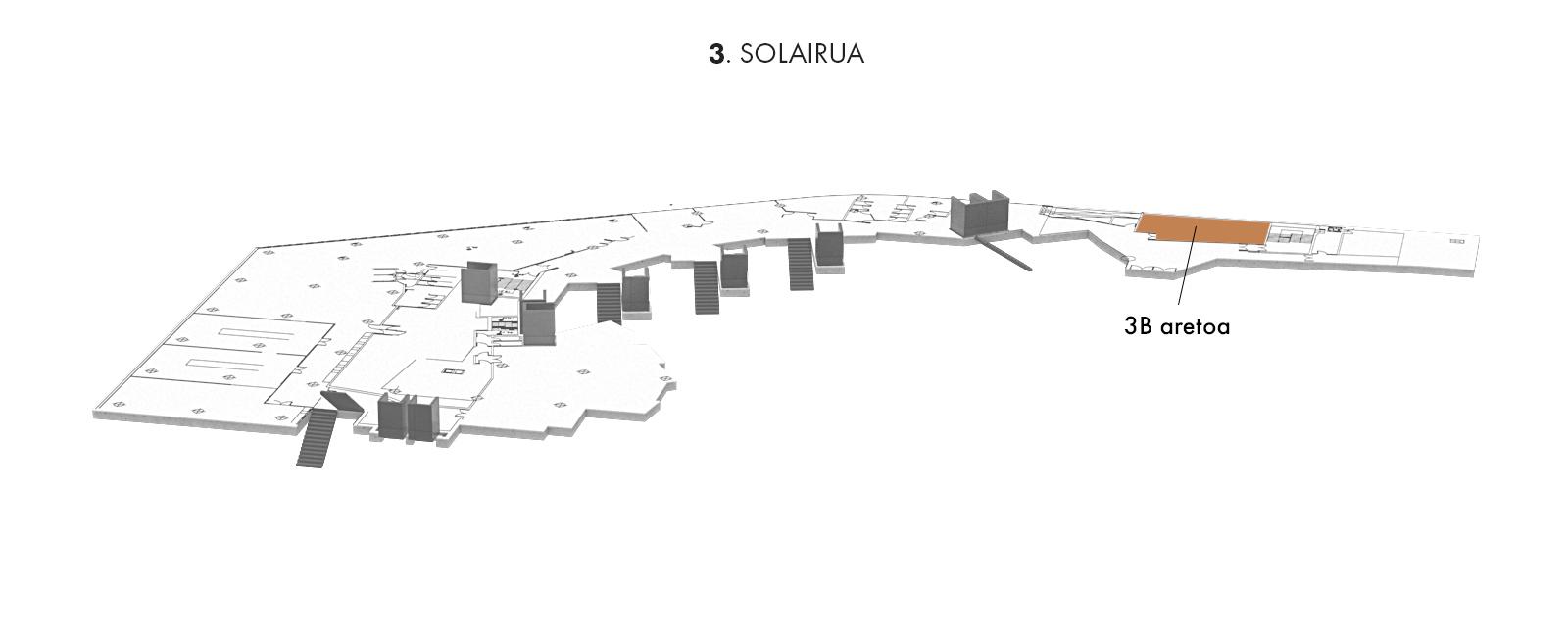 3B aretoa, 3. solairua | Palacio Euskalduna Jauregia
