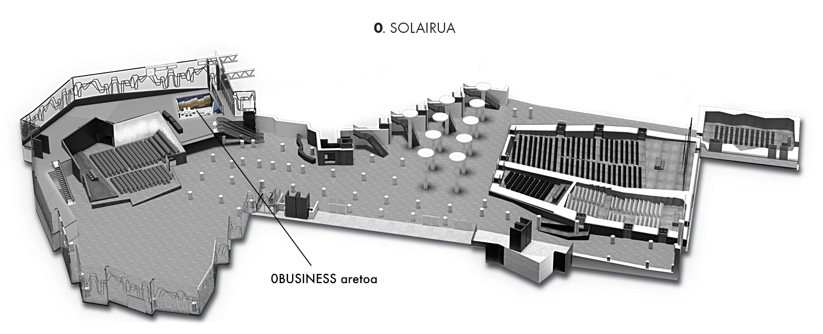 0BUSINESS aretoa, 0. solairua   Palacio Euskalduna Jauregia