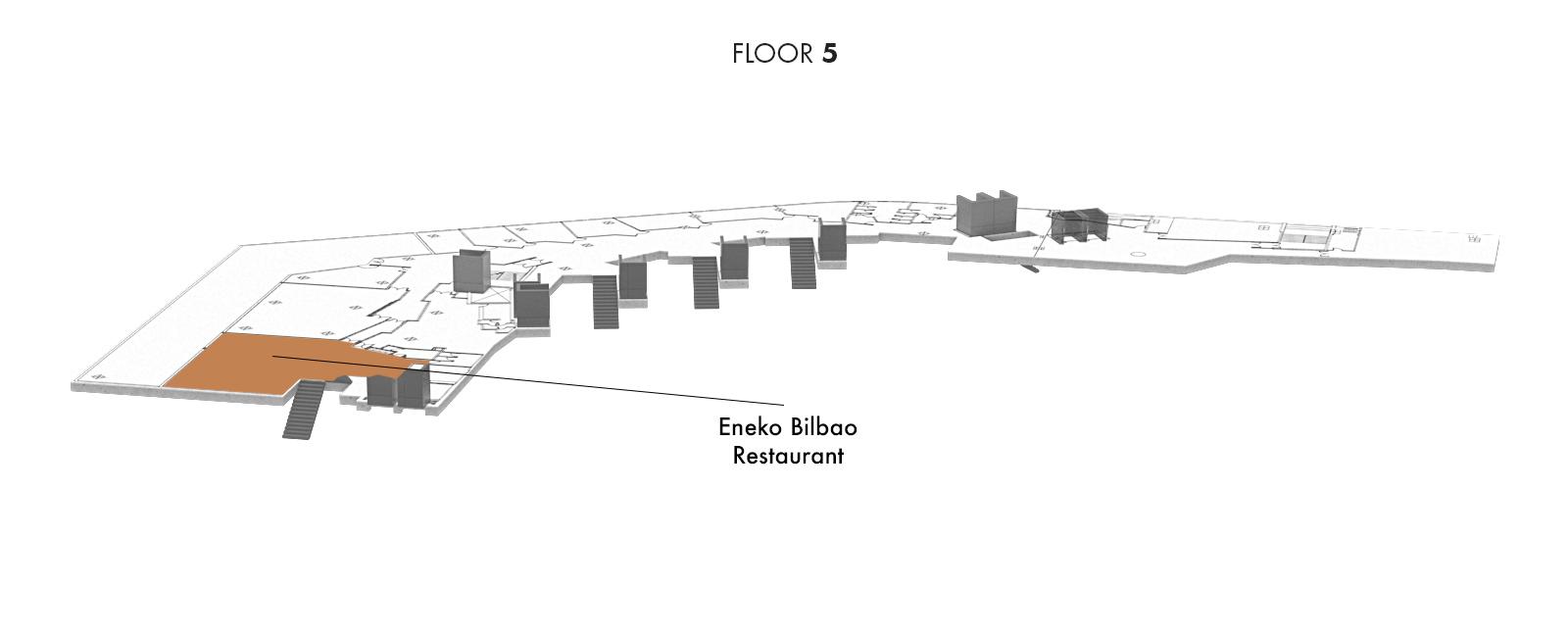 Eneko Bilbao Restaurant, Floor 5   Palacio Euskalduna Jauregia